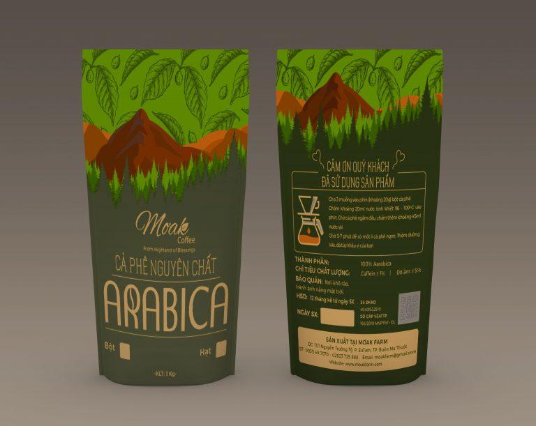 Cà phê bột nguyên chất Arabica