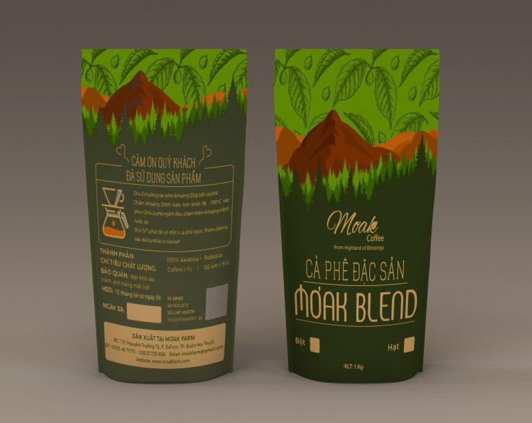 Cà phê đặc sản Moak Blend